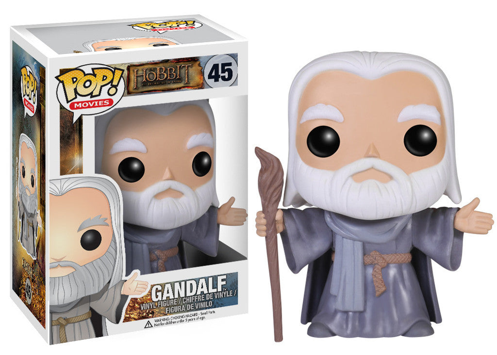 Hobbit The Desolation of Smaug Gandalf (Hatless) Pop Retired