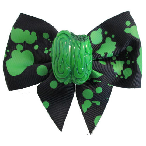 Zombie Brain Hair Bow (Kreepsville 666)