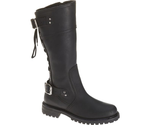 Lace-Up Alexa Boot