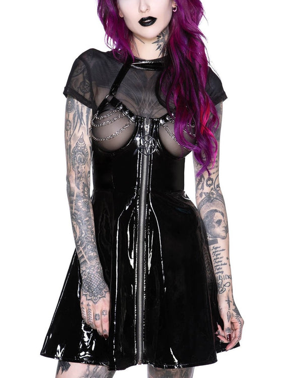 Hot As Hell Chain Dress