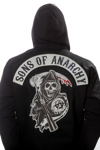 Sons of Anarchy Highway Twill Jacket with Hood