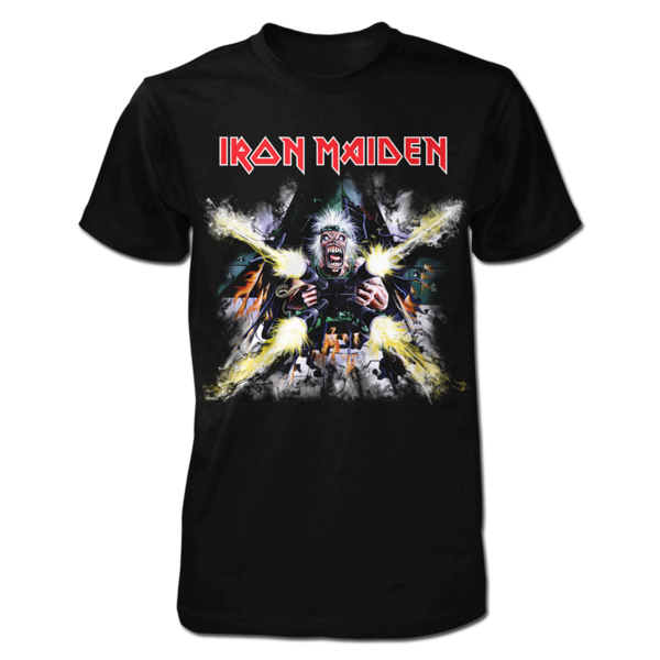 "Iron Maiden ""Tailgunner Explodes"" Men's T-Shirt"