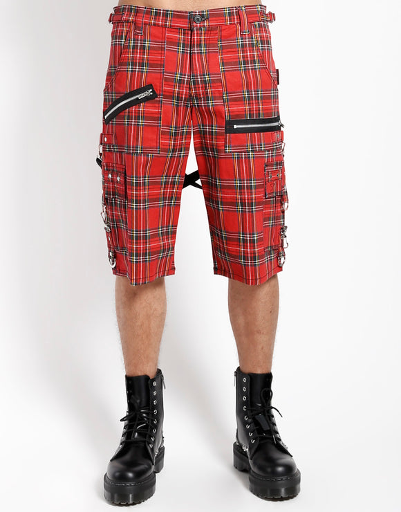 Plaid Punk Shorts