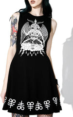 Load image into Gallery viewer, In Like Sin Skater Dress
