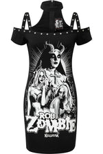 Load image into Gallery viewer, Lust for Death Bodycon Dress