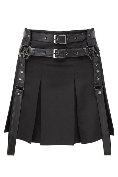 killstar mayhem mini skirt