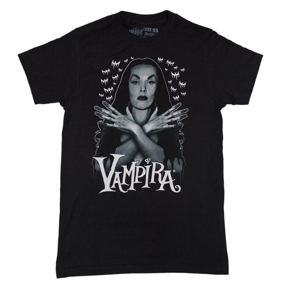 Vampira Bat Flock T-Shirt