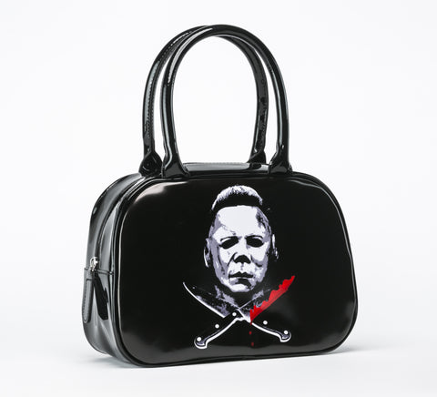 Mike Myers Halloween II Handbag VEGAN (Rock Rebel)