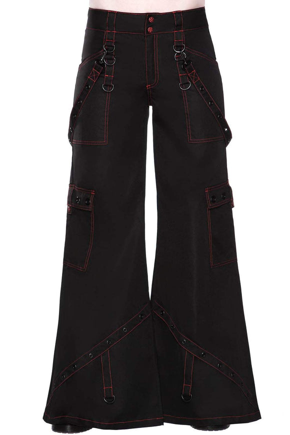 Night Species Bondage Flare Pants