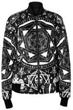 Load image into Gallery viewer, Occult Bomber Men's Jacket