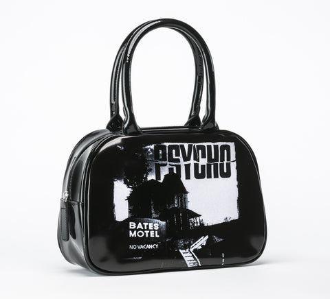 Psycho Bates Motel Handbag VEGAN (Rock Rebel)