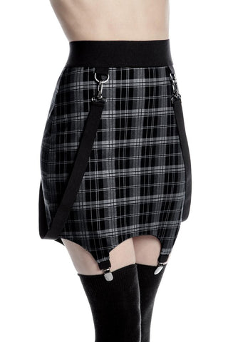 KILLSTAR RAGING BONDAGE SKIRT