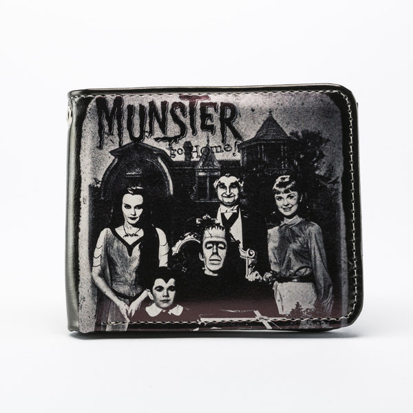 The Munsters Family Portrait Billfold Wallet (Rock Rebel)
