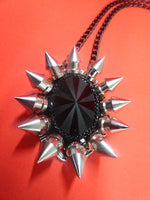 Load image into Gallery viewer, Spiked Pendant Necklace