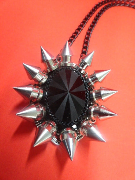 Spiked Pendant Necklace (Solstice)