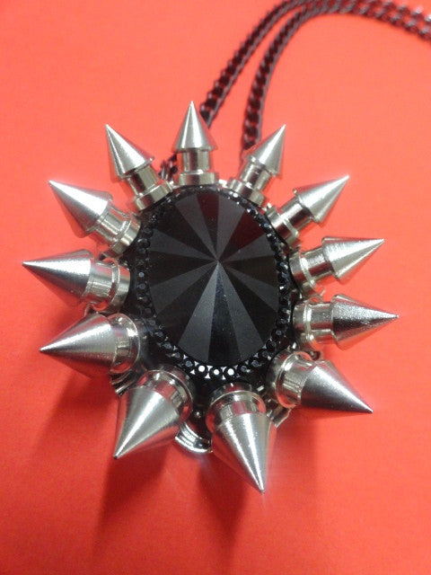 Spiked Pendant Necklace