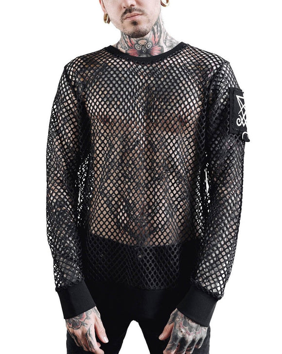 Syd Fishnet Top