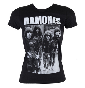 Ramones Band Photo T-Shirt