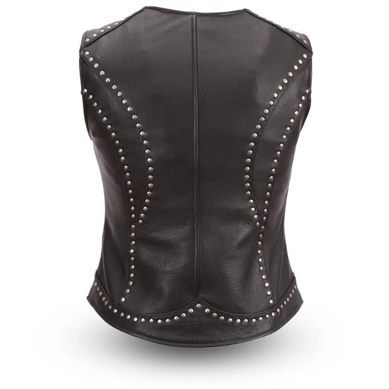 Taylor Leather Vest for Women