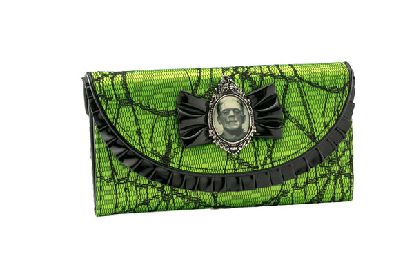 Frankenstein Lace Wallet Green
