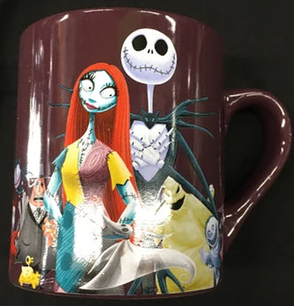 Nightmare Before Christmas Jack and Friends Mug