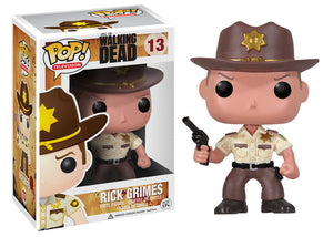 Walking Dead Rick Grimes Pop