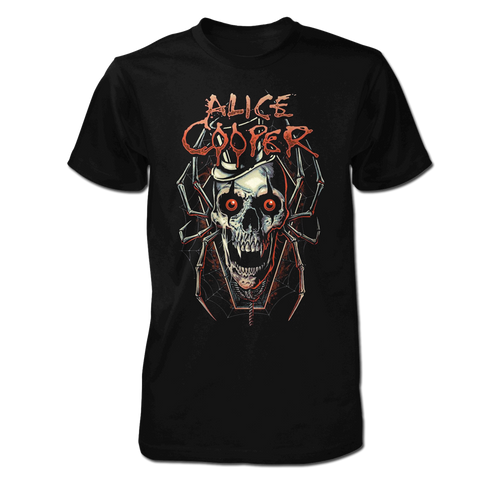 "Alice Cooper ""Skull Spider"" Men's Tee"