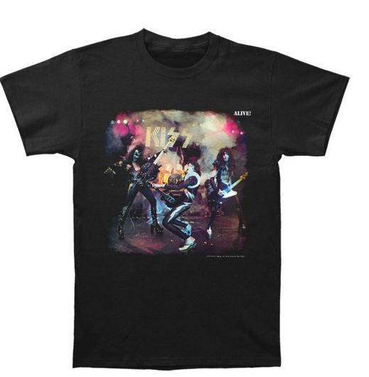 "Kiss ""Alive"" Men's T-Shirt"
