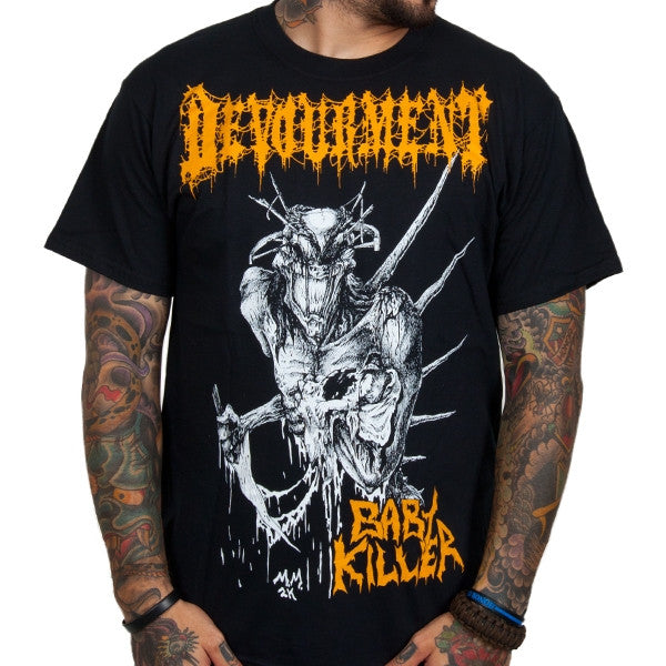 "Devourment ""Baby Killer"" Men's Tee with Back Print"