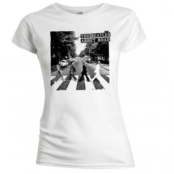 "Beatles ""Abbey Road"" Women's SOFT T-Shirt (Bravado)"