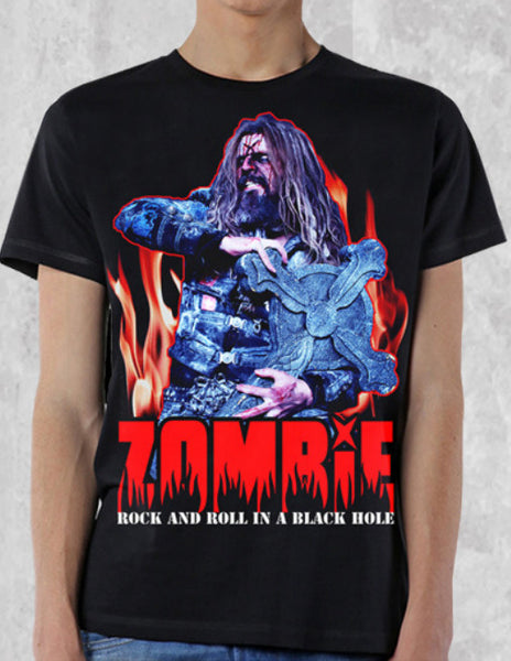 "Rob Zombie ""Black Hole"" Men's T-Shirt"