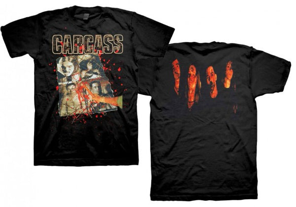 "Carcass ""Necroticism"" Men's T-Shirt w/ Back Print"