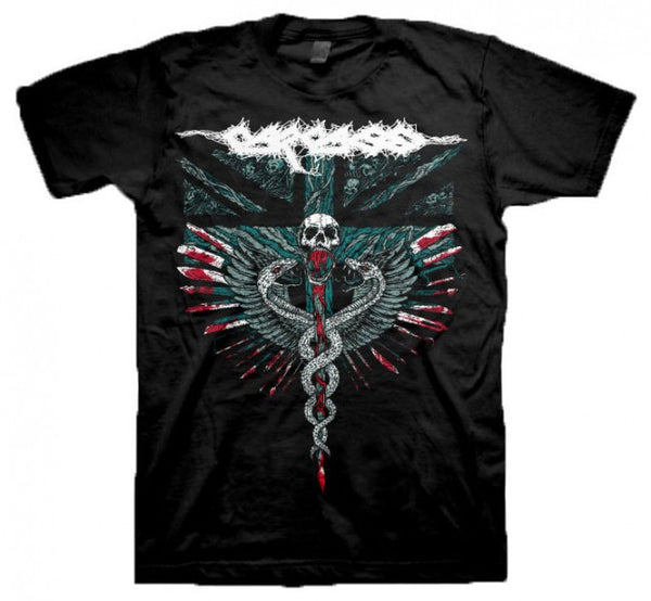 "Carcass ""Medical Snakes"" Men's T-Shirt"