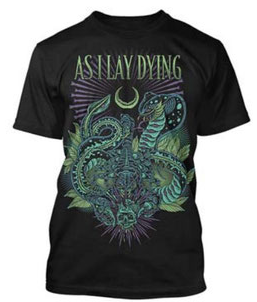 As I Lay Dying Cobra T-Shirt