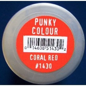 Punky Colour, semi-permanent conditioning hair color, Coral Red, 3.5 fl oz - DISCONTINUED