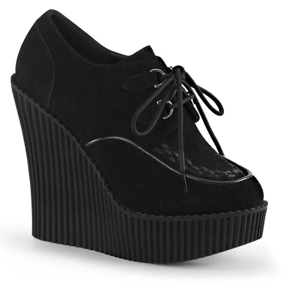Creeper-302 Vegan Leather Suede 5 1/4