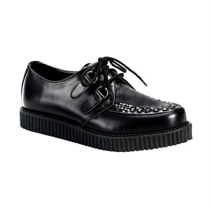 "Creeper-602 Real Leather 1"" Platform Creeper Shoe"