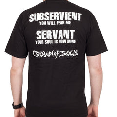 "Deeds of Flesh ""Crown of Souls"" Men's Tee w/ Back Print (IndieMerch)"