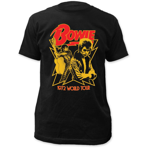 David Bowie 1972 World Tour Men's Soft Tee