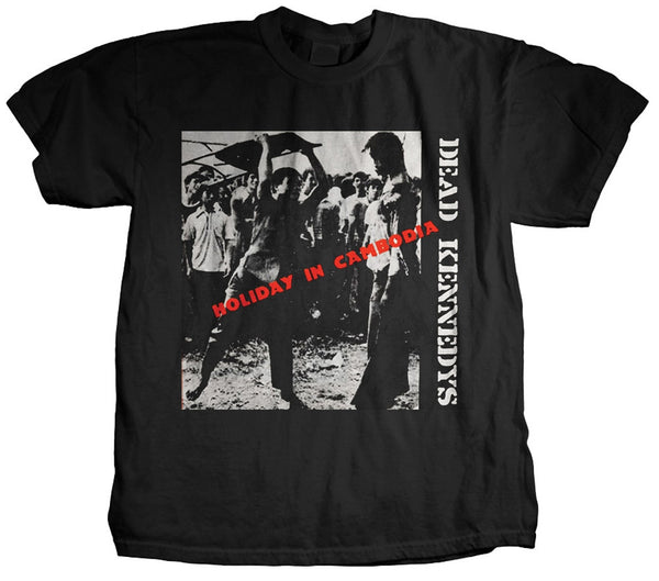 "Dead Kennedys ""Holiday in Cambodia"" Men's w/ Back Print"