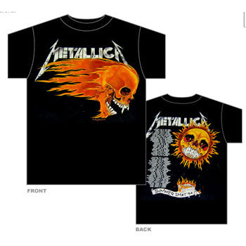"Metallica ""Summer Sh*t"" Men's Tour T-Shirt with Back Print"