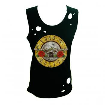 Guns N' Roses Destroyed Circle Tank Top