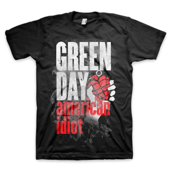 "Green Day ""Smoke Screen"" Men's SOFT T-Shirt"