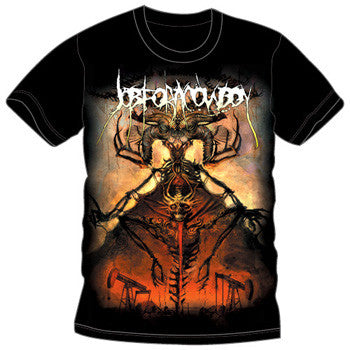 "Job For A Cowboy ""Oil Demon"" Men's T-Shirt"