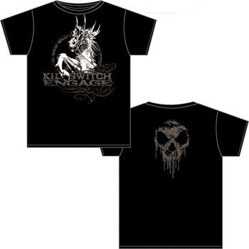 "Killswitch Engage ""Horse"" Men's T-Shirt w/ Back Print"