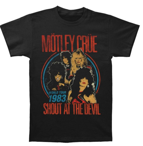 "Motley Crue ""Shout At The Devil Distressed"" Men's SOFT T-Shirt"