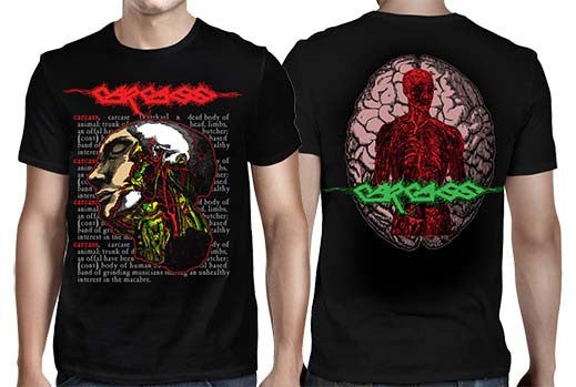 "Carcass ""Anatomical Head"" Men's Tee"