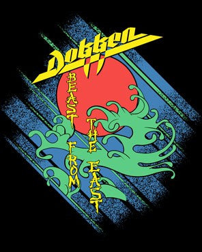"Dokken ""Beast from the East"" Men's T-Shirt w/ Back Print"
