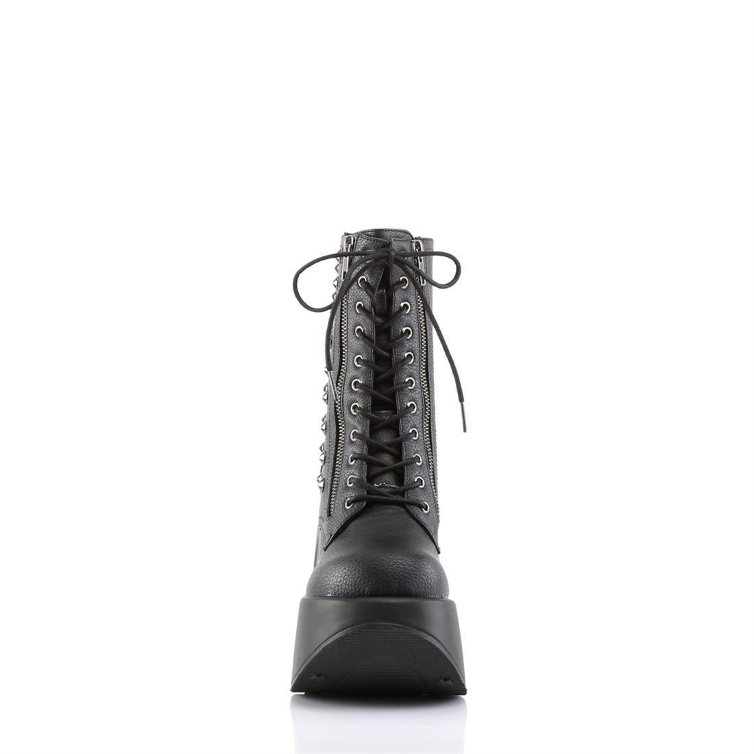 "Dynamite-100 Vegan Leather 5"" Wedge Ankle Boot"