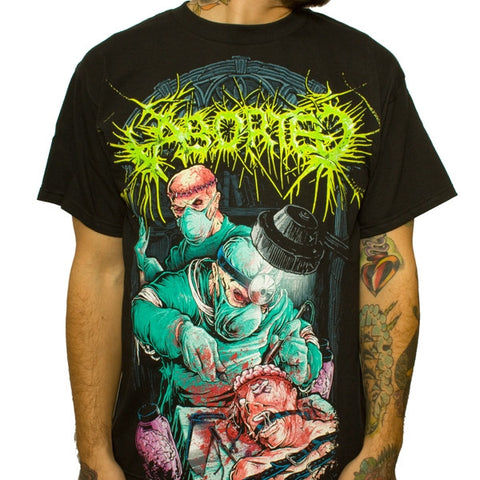 "Aborted ""Butchered Lobotomy"" Men's Tee (IndieMerch)"